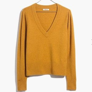 NWT Madewell Westgate V-Neck Sweater
